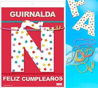 Inedit Guirnalda Feliz Cumpleaños 3 Metros