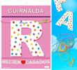 Inedit Guirnalda Recien ♥ Casados