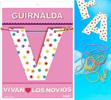 Inedit Guirnalda Vivan Los Novios