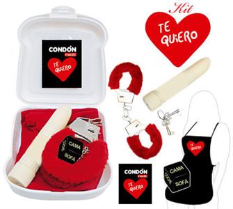 Inedit Kit Erótico Rojo Te Quiero / I Love You