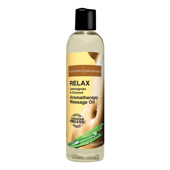 Intimate Earth - Relax Massage Oil 120 ml.