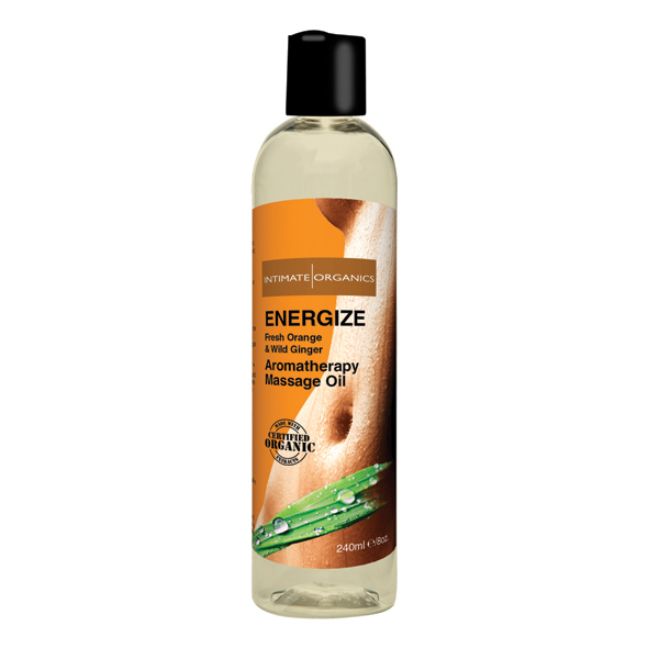 Intimate Earth - Energize Massage Oil 240 ml.