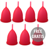 Intimichic Copa Menstrual Silicona Medica L 6+1 Gratis