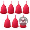 Intimichic Copa Menstrual Silicona Medica S 6+1 Gratis