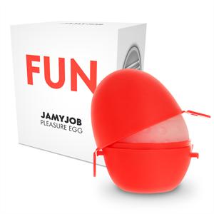 Jamyjob Jumyjob Huevo Masturbador Discreto Edicion Rojo Fun