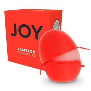 Jamyjob Jumyjob Huevo Masturbador Discreto Version Rojo Joy