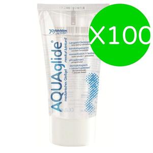 Joydivision Aquaglide Lubricant 50 Ml (x 100 Uds)