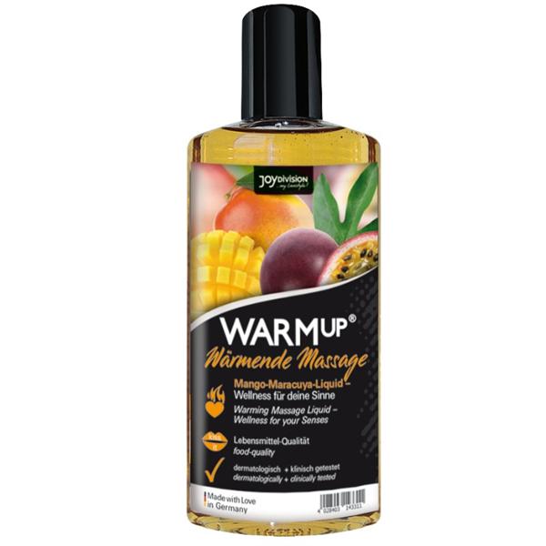 Joydivision - Warmup-Aceite De Masaje Efecto Calor-Mango 150ml