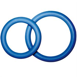 Joydivision Potenz Duo Azul Anillos Pene Pequeño ( Size S)