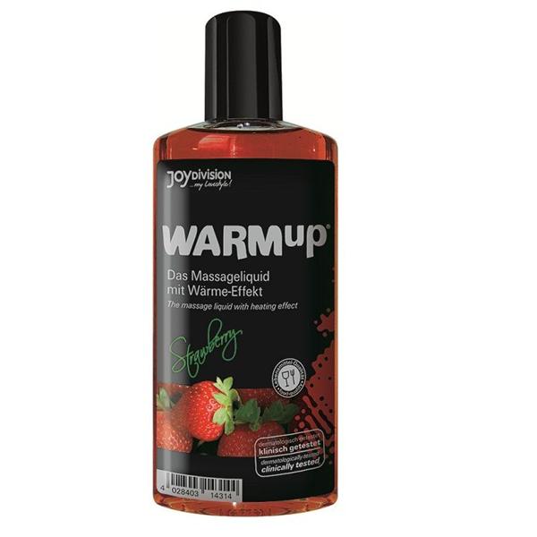 Joydivision Warmup-Aceite De Masaje Efecto Calor-Fresa 150ml