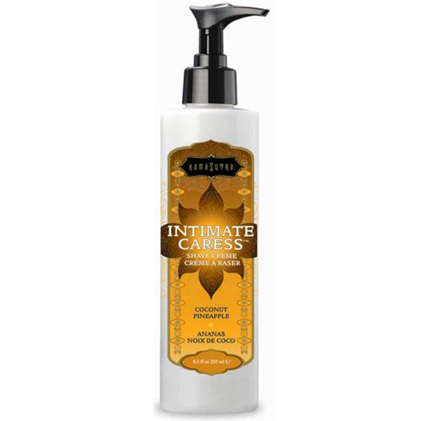 Kamasutra - Intimate Caress Moisturizing Shave Cream For Women Coconut Pineapple