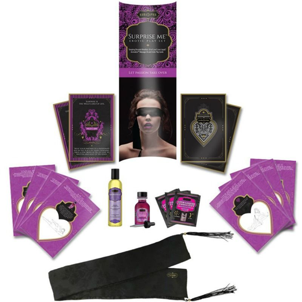 Kamasutra - Kamasutra Surprise Me Kit Erotico