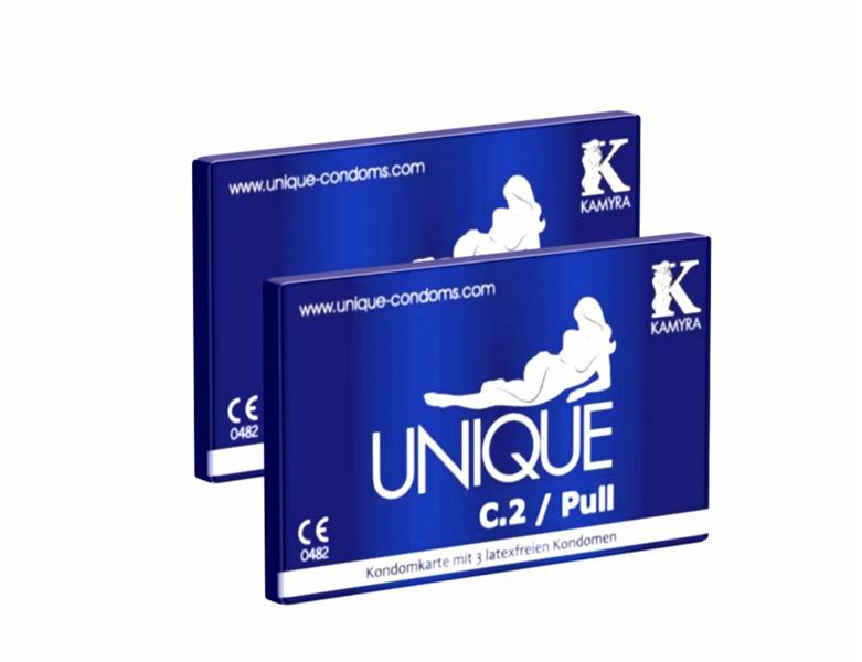 Kamyra - Unique C.2 Pull Sin Látex (2 x 3 unidades)
