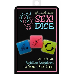 Kheper Games Dados Sexuales Brillo Oscuridad