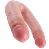 King Cock Dildo Large Doble Penetración 17,8cm.