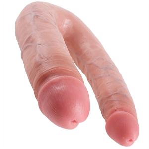 King Cock Dildo Large Doble Penetración 17,8cm.