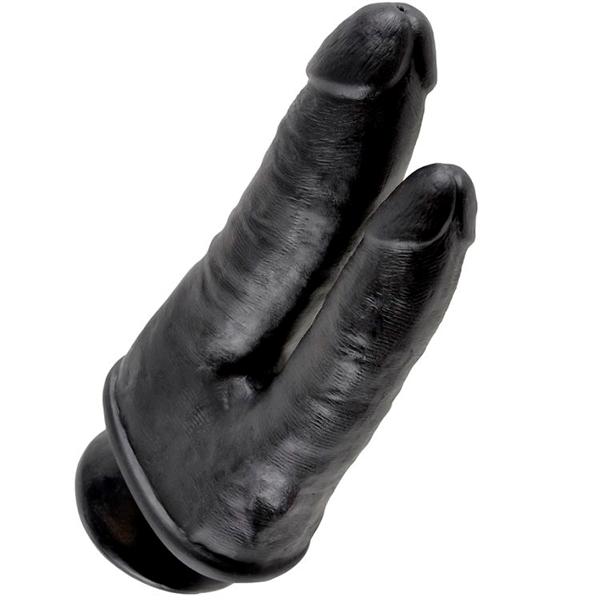 King Cock - King Cock Doble Penetración Negro