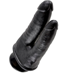 King Cock Doble Penetración Negro
