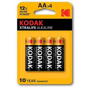 Kodak Xtralife Pila Alcalina Aa Lr6 Blister*4