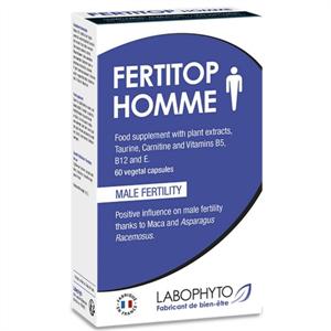 Labophyto Fertitop Men Complemento Alimenticio Fertilidad Hombre 60 Caps