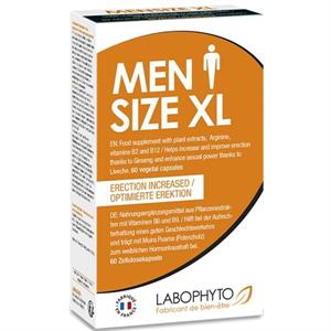 Labophyto Mensize Xl Capsulas Aumento Ereccion 60 Unid