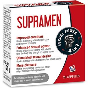 Labophyto Supramen 20 Capsulas 4 En 1 Potencia Sexual