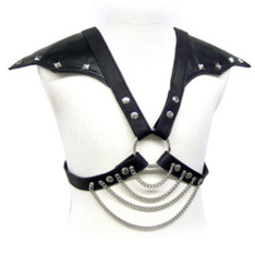 Leather Body - Arnés de Pecho Hombre con Alas en Hombros
