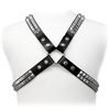Leather Body Pyramid Stud Harness