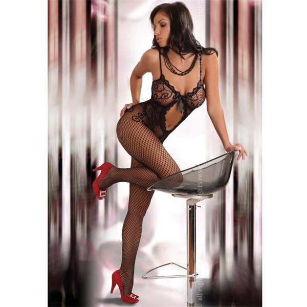 Livco Corsetti Bodystocking Magali Black