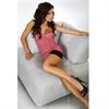 Livco Corsetti Maricel Babydoll Pink Clear S/M