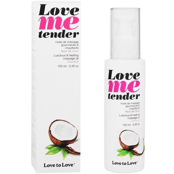 Love To Love Aceite Love Me Tender de Coco (con Efecto Calor)
