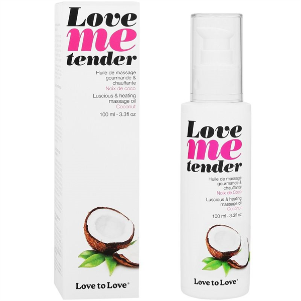 Love To Love - Love To Love Me Tender Masaje & Efecto Calor Sabor A Coco 100ml