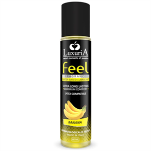 Luxuria Feel Lubricante Base Agua Platano 60 Ml