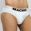 Macho Underwear Macho - Mc126 Calzoncillo Corto Blanco Talla S