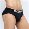 Macho Underwear Macho - Mc126 Calzoncillo Corto Negro Talla S