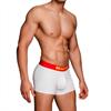 Macho Underwear Macho - Ms075 Boxer Deportivo Blanco Talla S