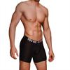 Macho Underwear Macho - Ms077 Boxer Deportivo Largo Negro Talla S