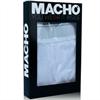 Macho Underwear - Macho - Ms077 Boxer Deportivo Largo Negro Talla S