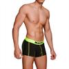 Macho Underwear Macho - Ms085 Boxer Deportivo Negro Talla S