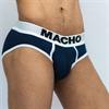 Macho Underwear Macho - Ms129 Calzoncillo Corto Azul Oscuro Talla M