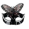 Mascaras Venecianas Mascara Veneciana Acabado Negro Mariposa