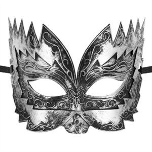 Mascaras Venecianas Mascara Veneciana Don Giovanni Color Plateado