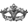 Mascaras Venecianas Mascara Veneciana Hamlet Plateado
