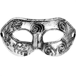 Mascaras Venecianas Mascara Veneciana Otello Color Plateado