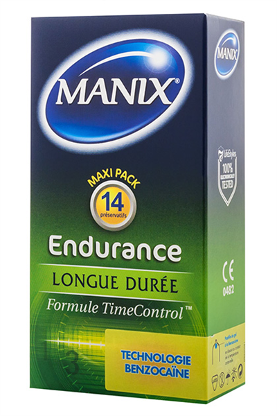 Manix / Mates Endurance - 14 Uds