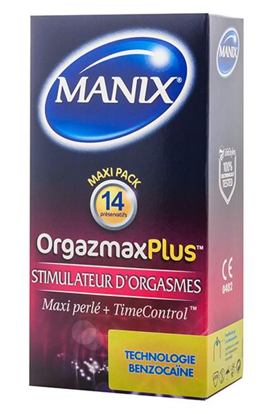 Mates / Manix Orgazmax Plus 14 Uds