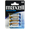 Maxell Pila Alcalina Aa Lr6 Blister*4 Eu
