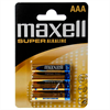 Maxell Pila Super Alkaline Aaa Lr03 Blister*4