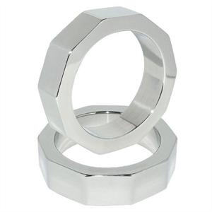 Metal Hard Metalhard Anillo Pene Y Testiculos Nut 45mm