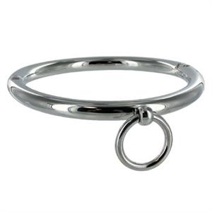 Metal Hard Metalhard Bdsm Collar Con Argolla 14cm